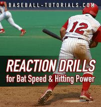 REACTION DRILLS FOR BAT SPEED
