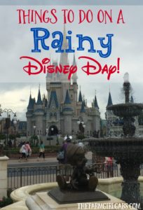 Don't let a little rain ruin all the family vacation fun at Walt Disney World. Check out these fun things to do on a rainy Disney Day