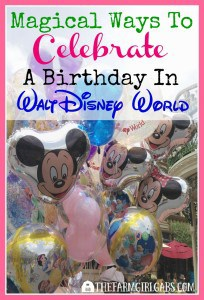 There is nothing for magical then spending your vacation AND birthday at Walt Disney World. Here are some fun ways to celebrate your special day in Disney.
