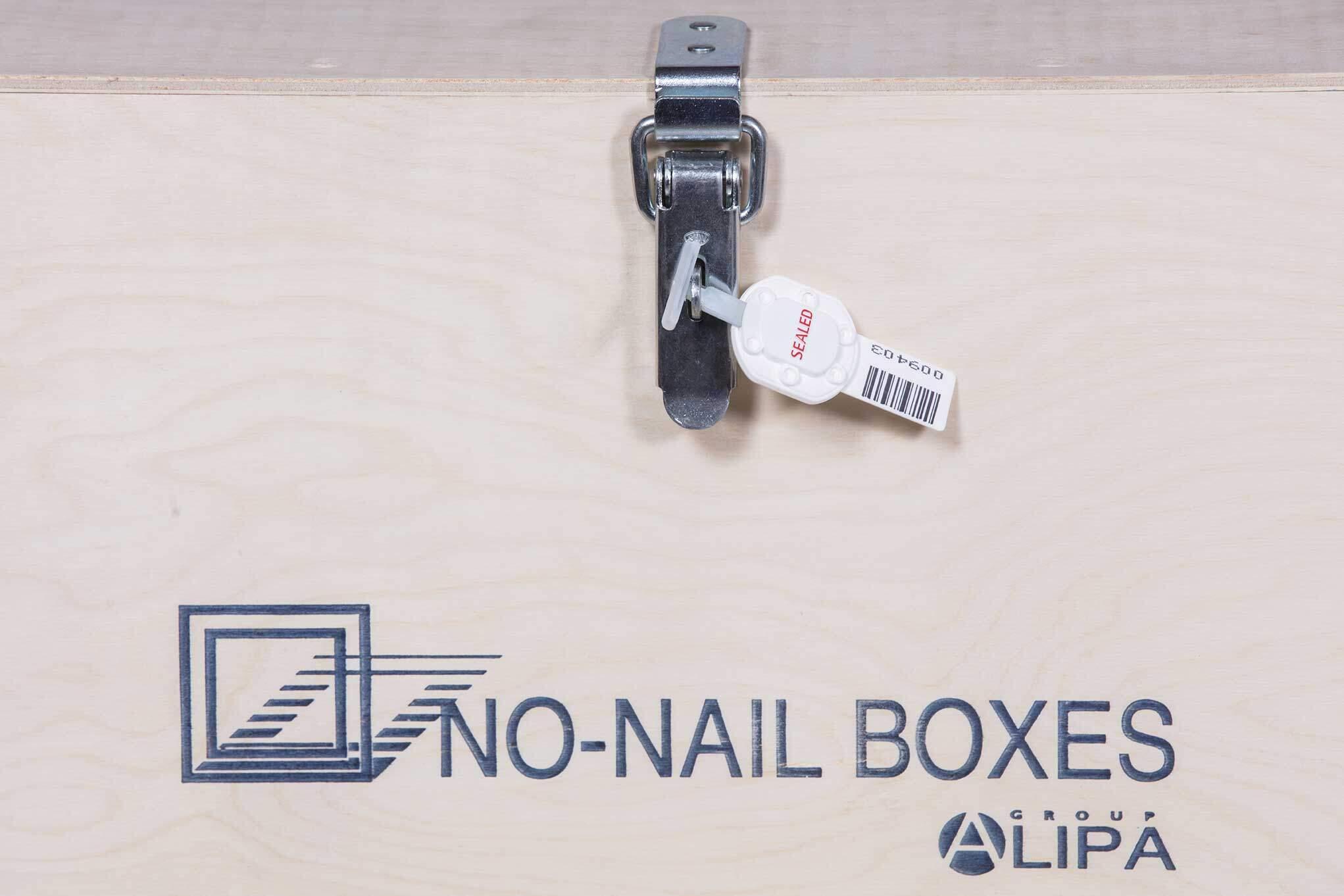 NO-NAIL BOXES: Vatverzegeling