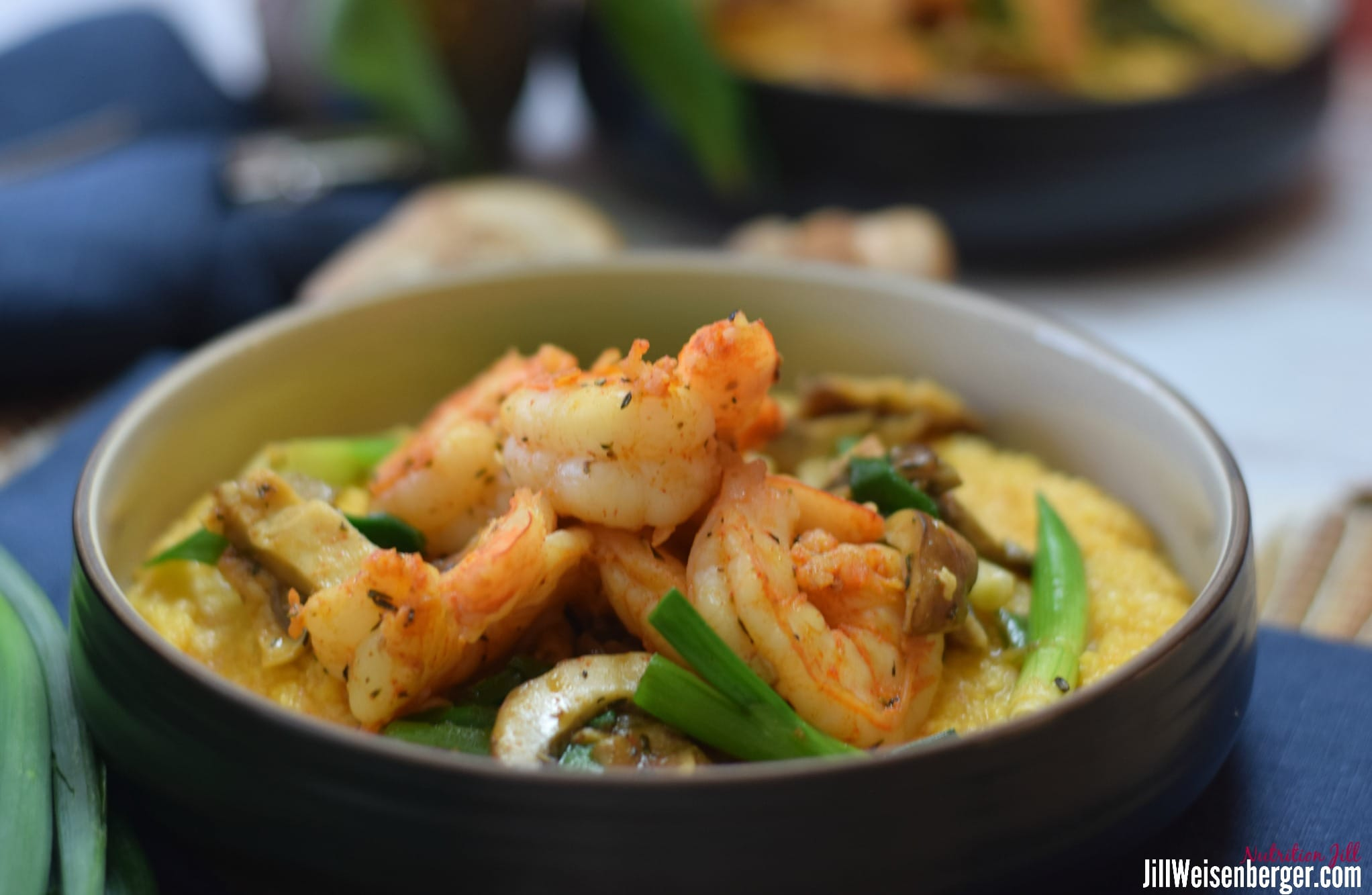 healthy shrimp and grits