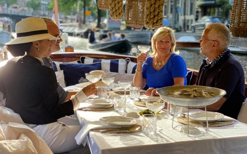 Amsterdam Canal dinner cruise