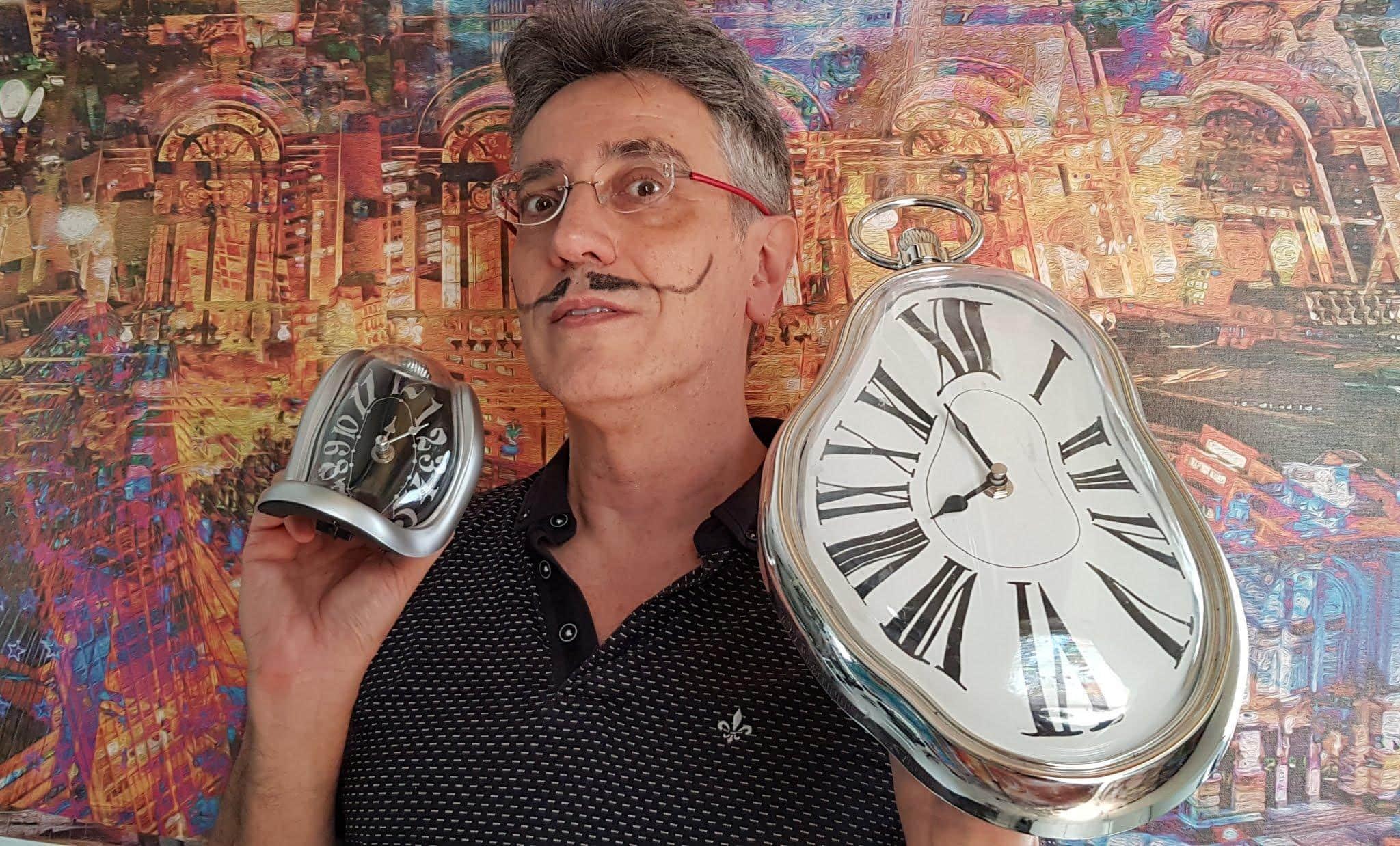 O Artista Henrique Vieira Filho E O Tempo