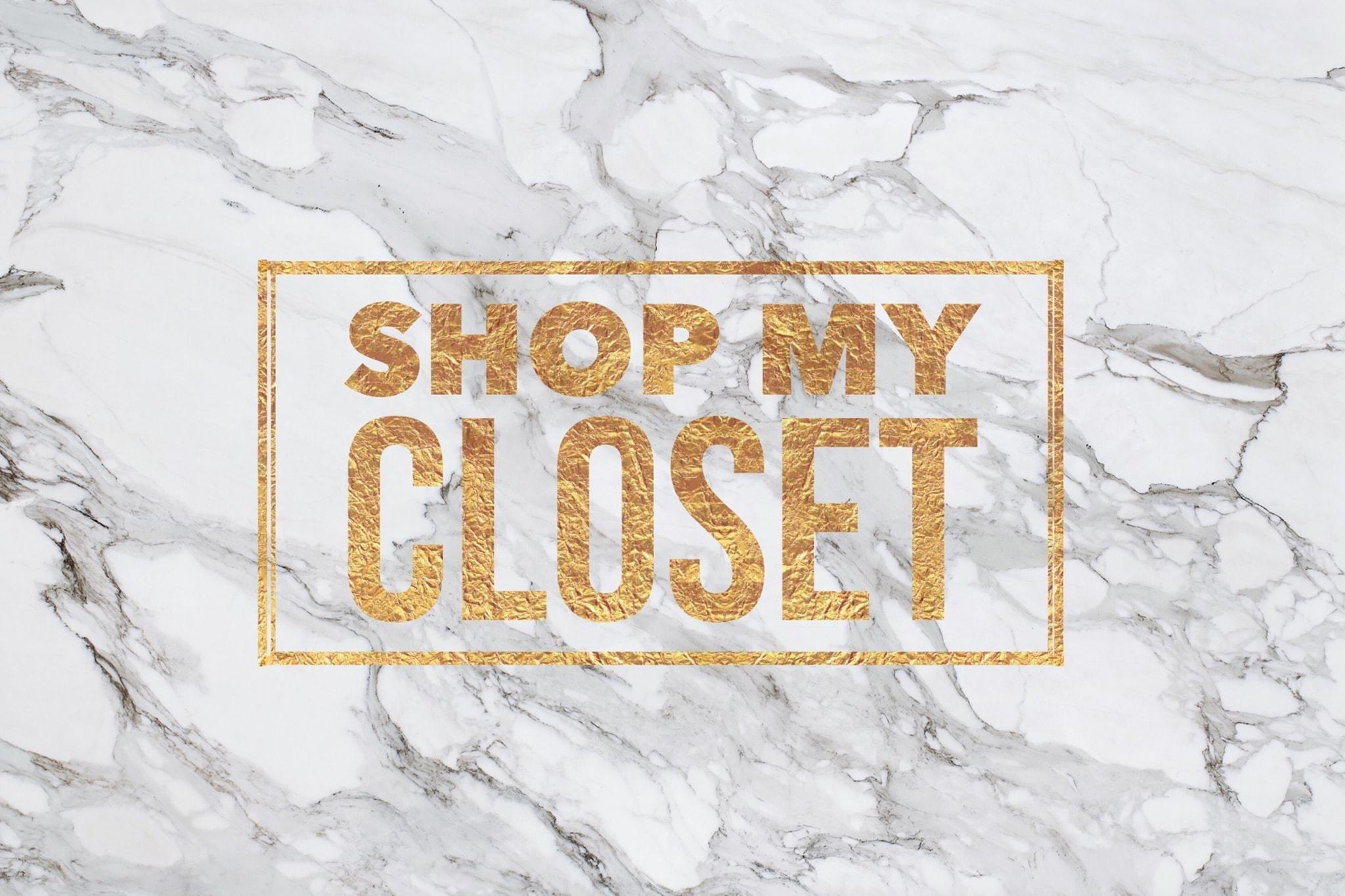 Shop My Closet Style Society Closet Sale