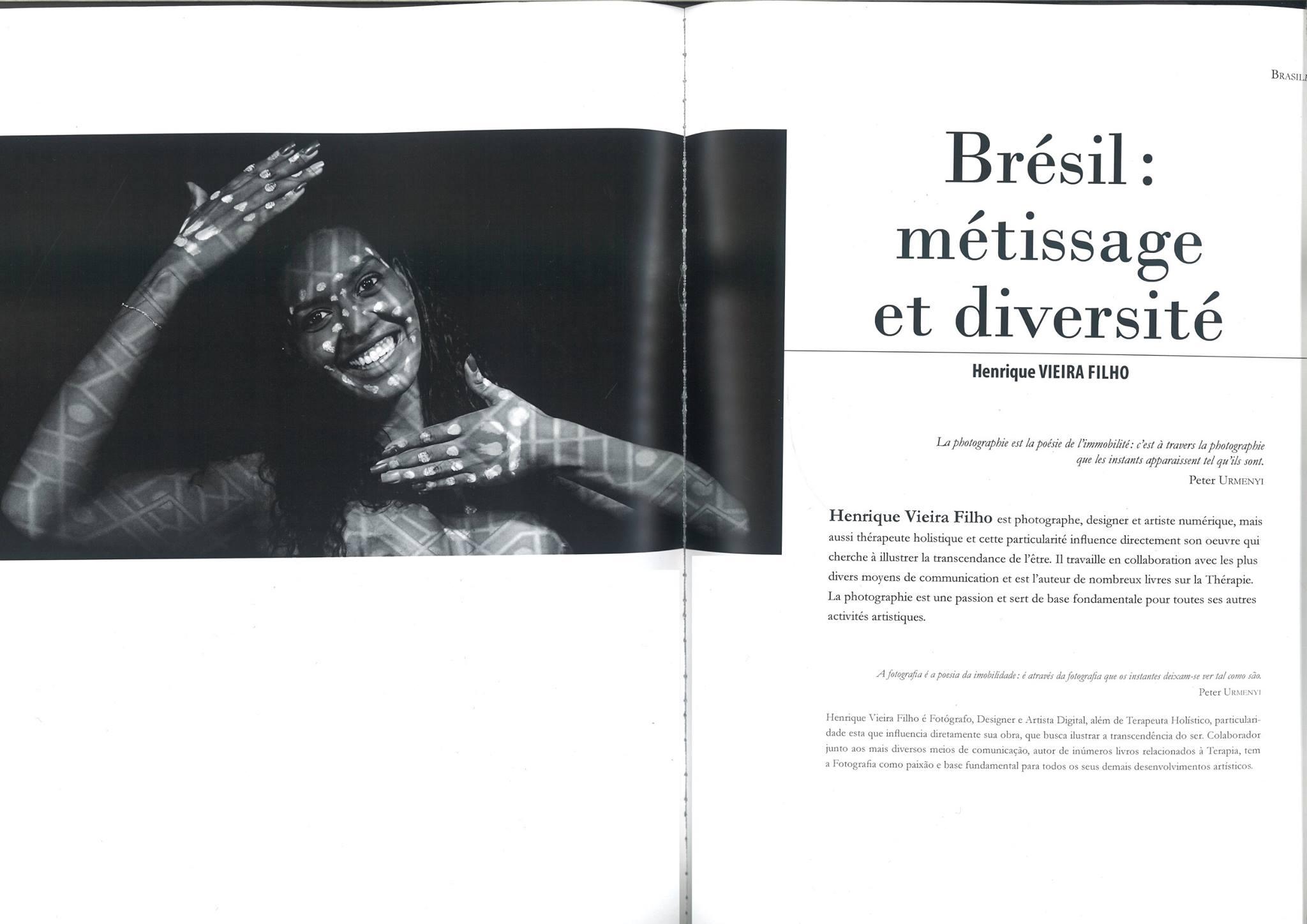 """livro """"Les Brésiliens vus par les Brésiliens"""" (Os Brasileiros vistos pelos Brasileiros)"""