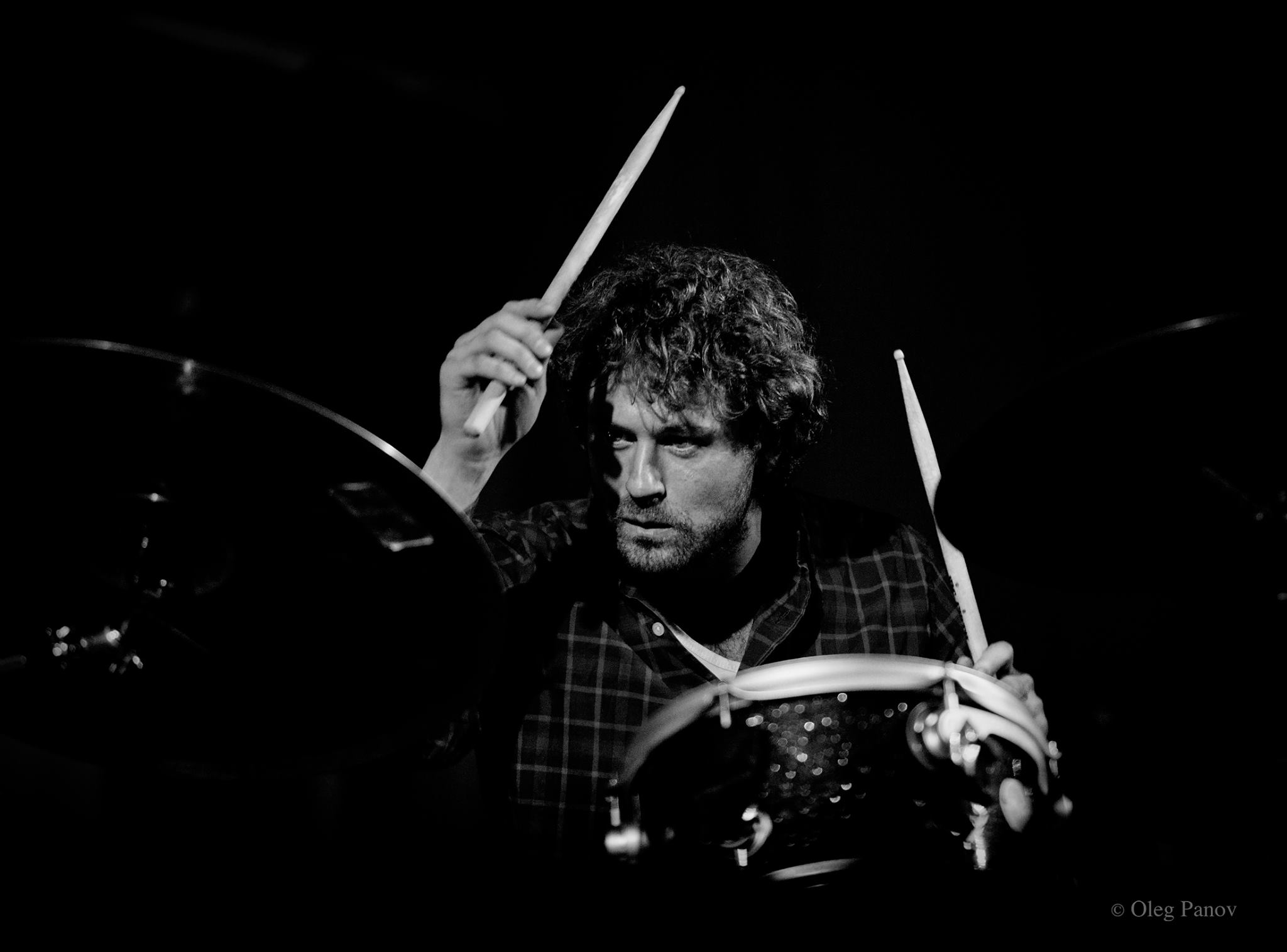 Florian Hoesl on drums