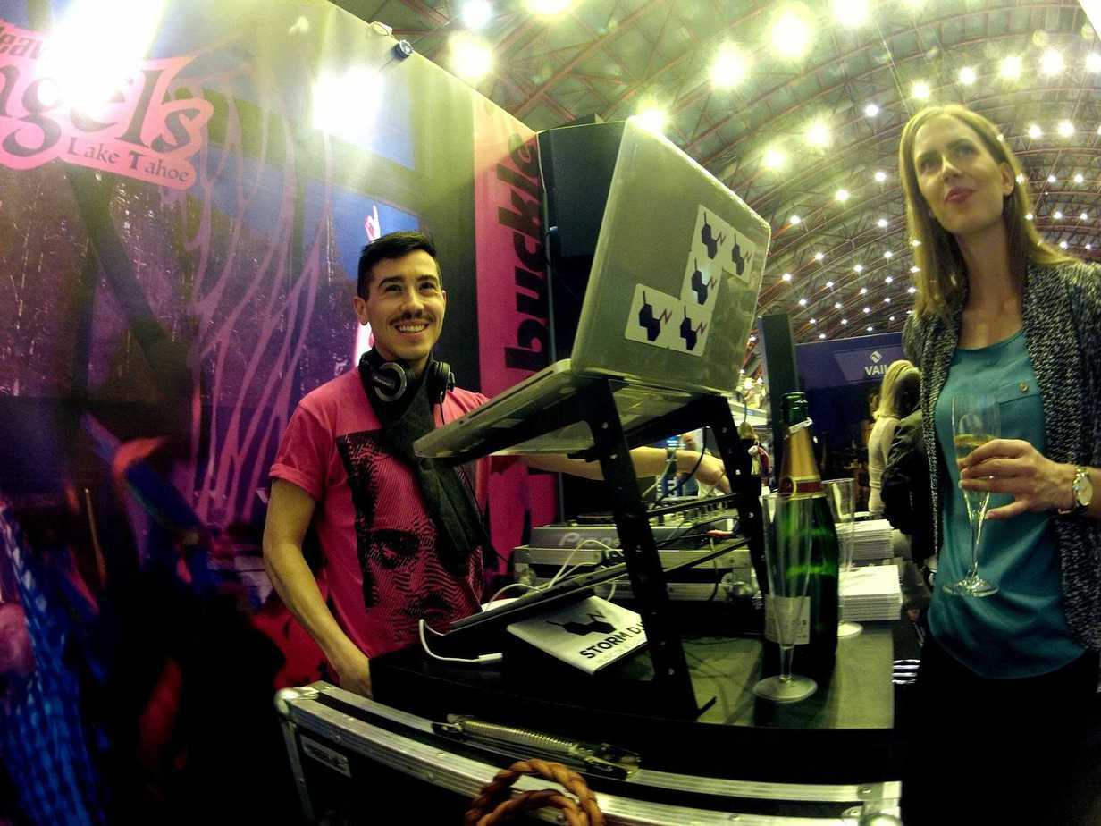 DJ Billy Gonzalez - Ski & Snowboard Show - Heavenly - Storm DJs