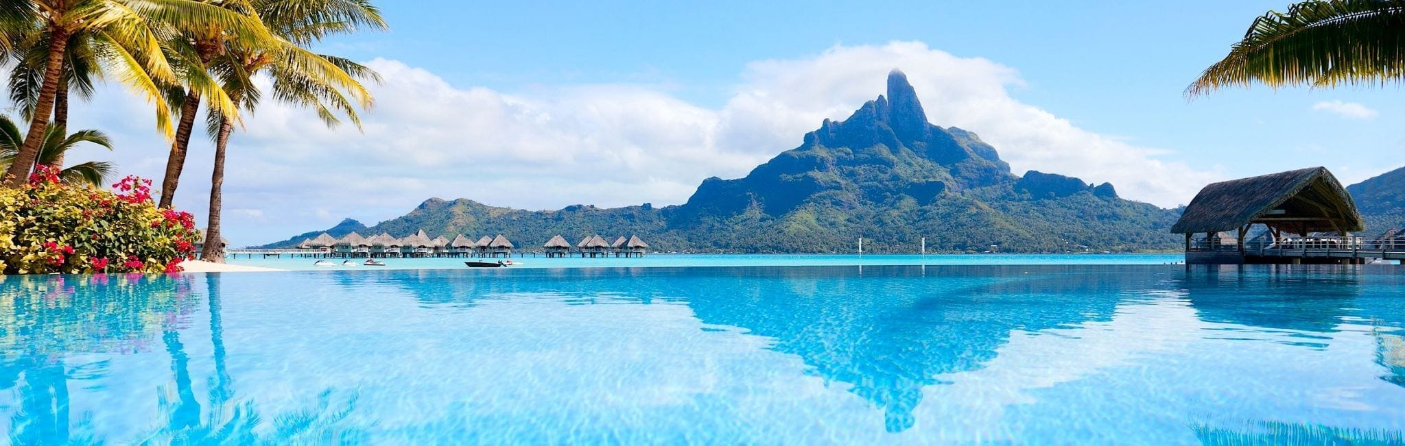 South East Asia Overwater Bungalows Tropical Honeymoon Resort