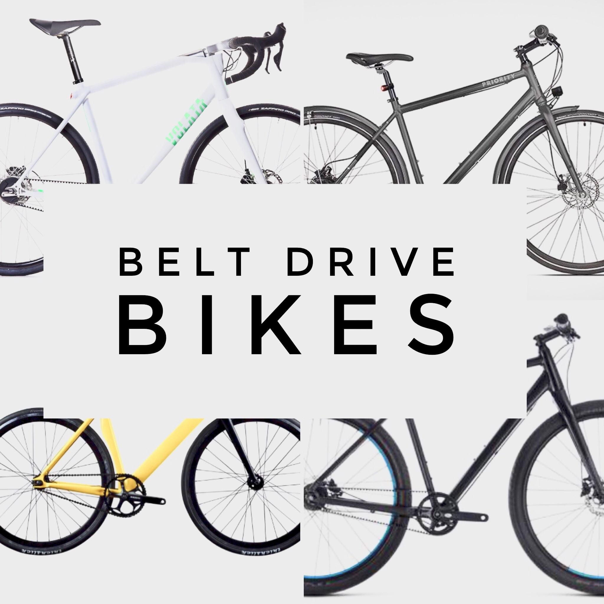 Belt driven bikes