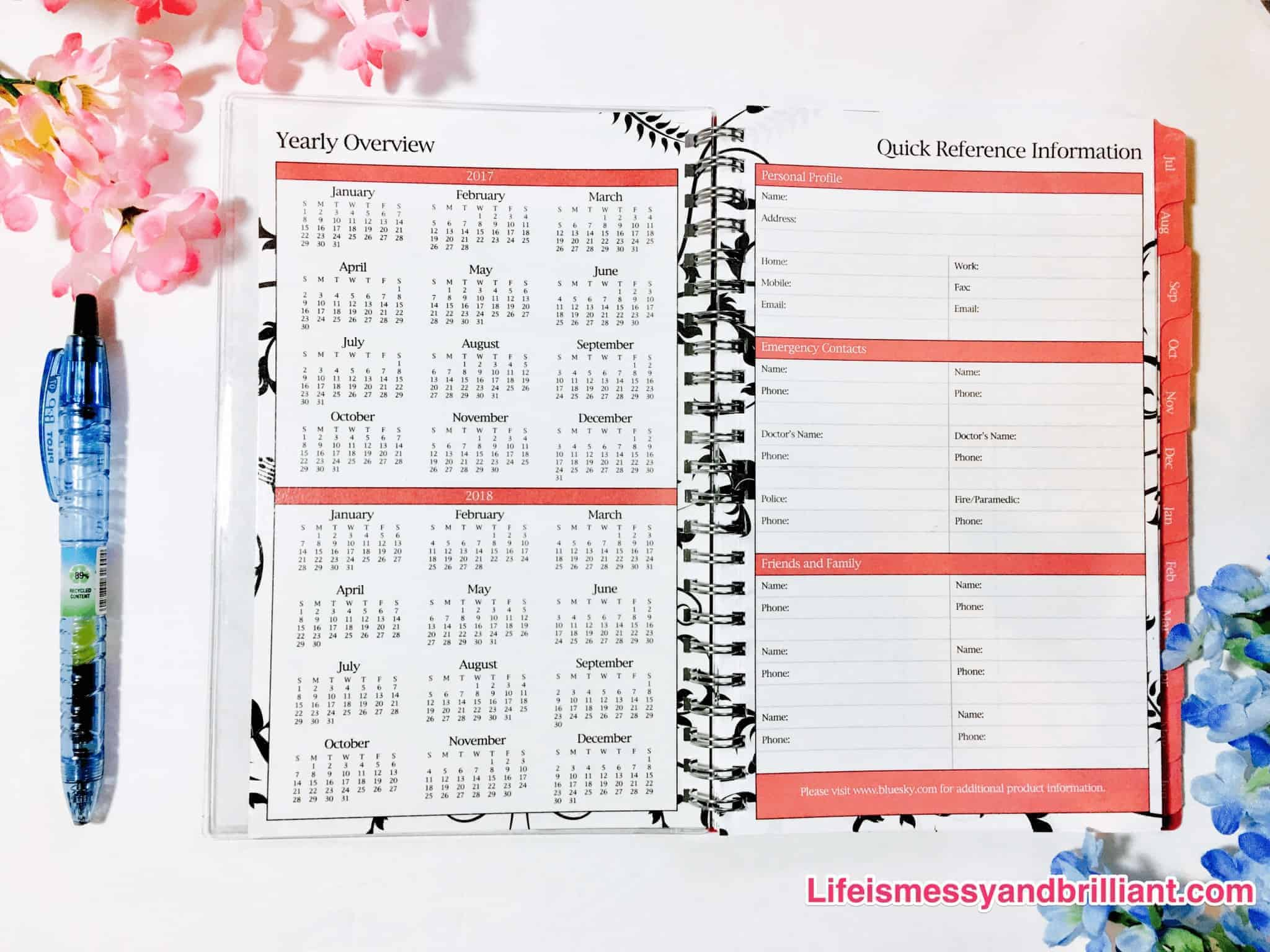 planners for college students