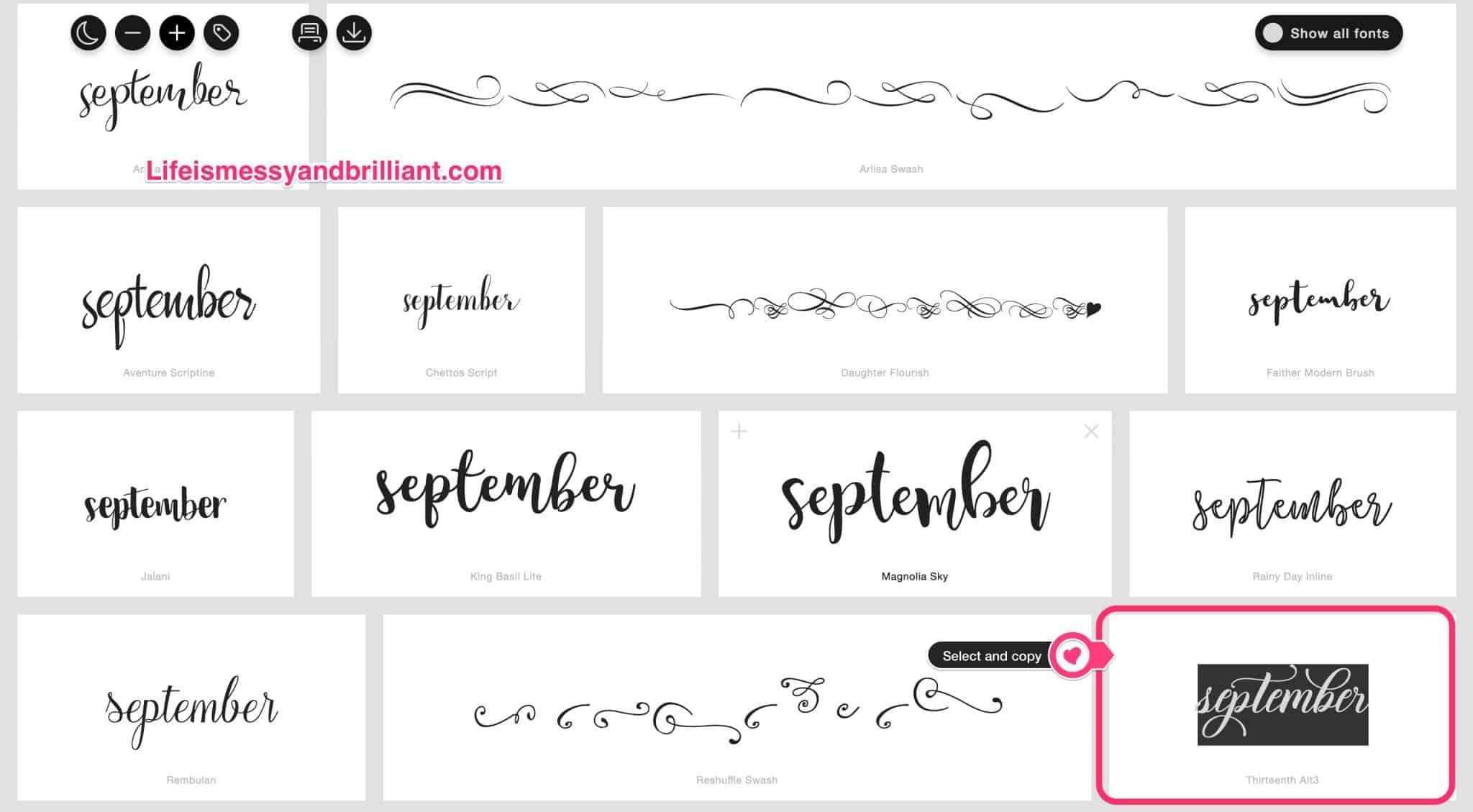 How To Add Style To Fonts Using The Pages Application