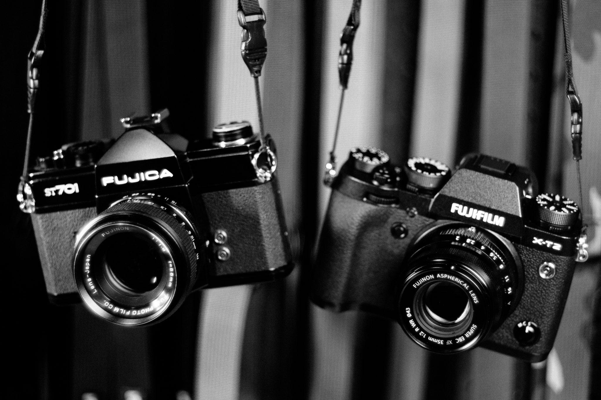 Fujica ST701 ir Fujifilm X-T2