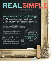 Real Simple Magazine - May 2009