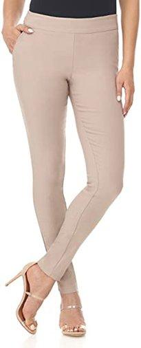 Rekucci Ease into Comfort skinny pants   40plusstyle.com
