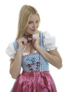 Gogo Tänzerinnen für Oktoberfest Partys