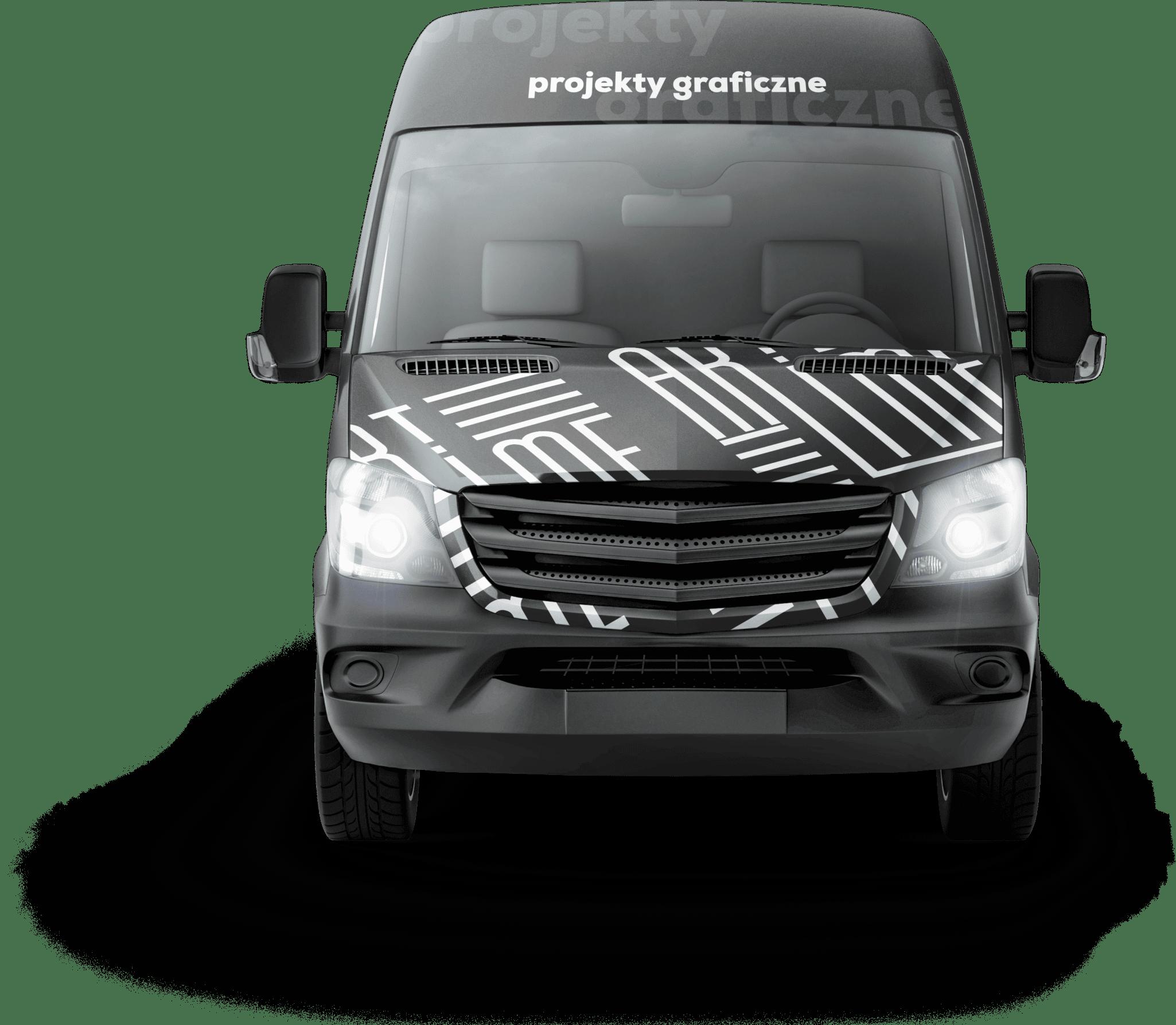 Samochód dostawczy dostawa materiałów