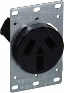 3 wire stove receptacle
