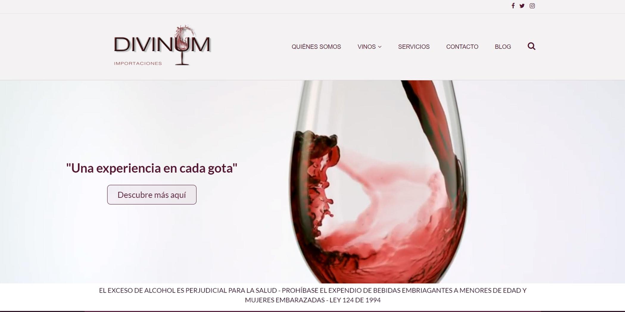 Página web Divinum