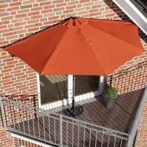 Top 5 ombrelloni da balcone: modelli, offerte. I bestseller