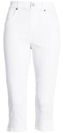 Hue capri denim leggings | 40plusstyle.com