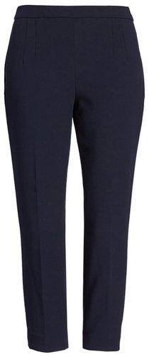 J.Crew crepe pants | 40plusstyle.com