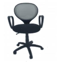 Кресло оператора 721 спинка TW сетка/ткань, топ-ган