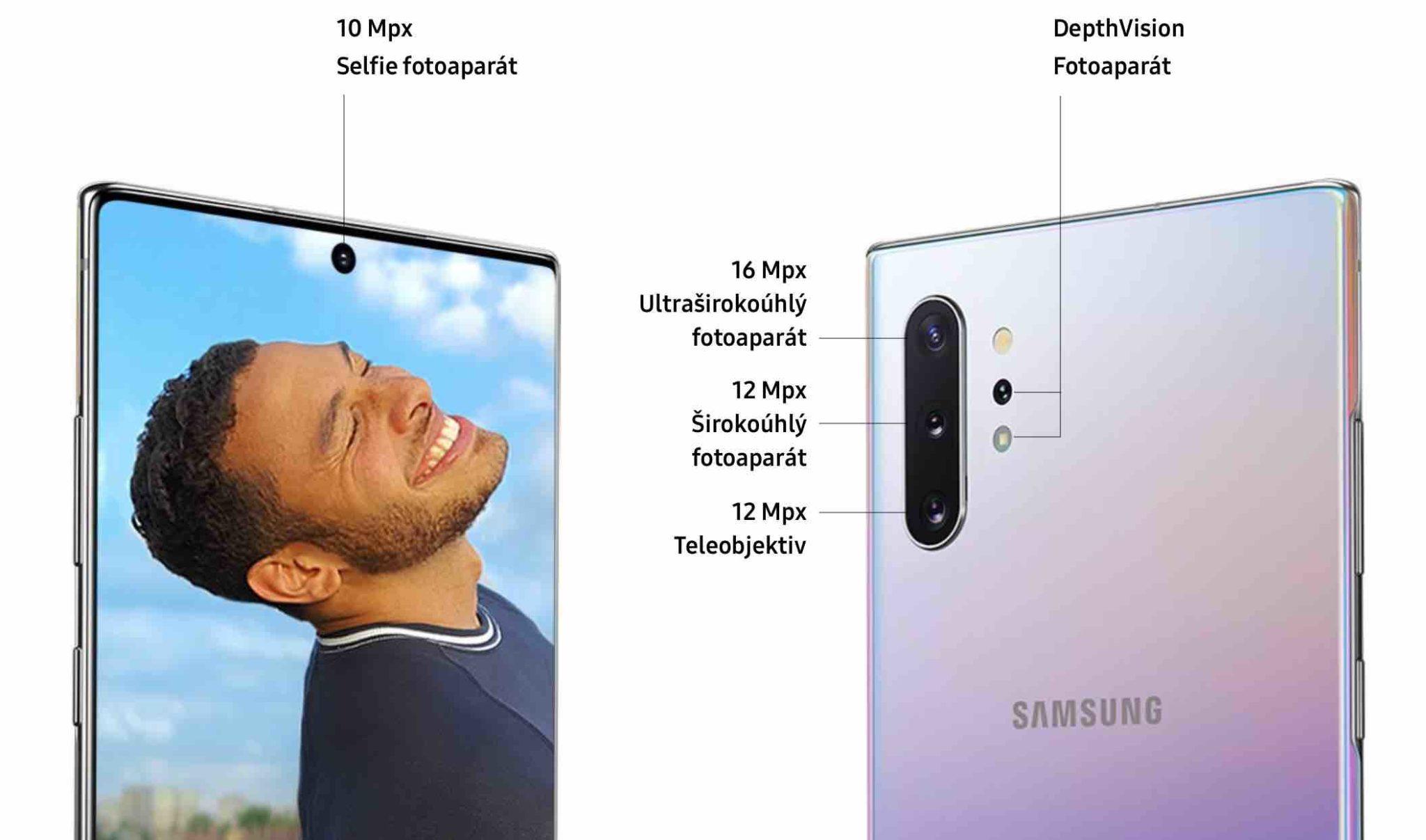 Jak fotí Galaxy Note10 od Samsungu? Tři králové na zadní straně