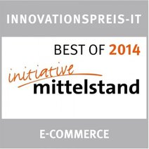 Signet Best of 2014 Initiative Mittelstand e-commerce