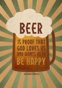 god loves beer
