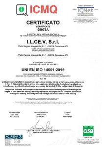 ICMQ UNI EN ISO 14001:2015