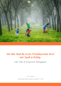 Cover des Elternratgebers mit spielenden Kindern