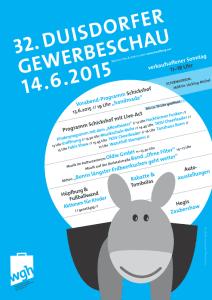 2015 Gewerbeschau Duisdorf Flyer