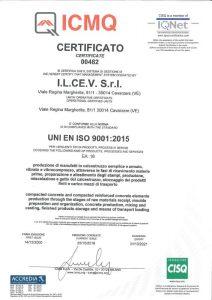ICMQ UNI EN ISO 9001:2015