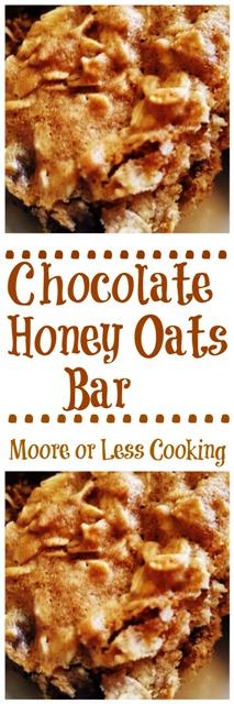 Chocolate Honey Oats Bar
