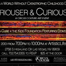 Curiouser & Curiouser Circus Couture Art Event, Las Vegas, NV 2013