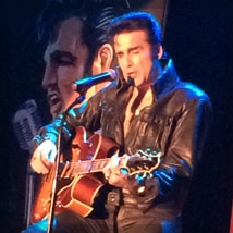 Steve Connolly as Elvis 12/24/15