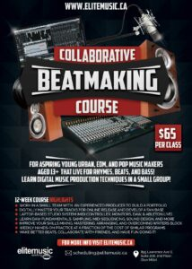 Collaborative Beatmaking MIDI Sequencing Beats Loops Course Poster