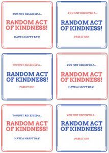 random acts of kindness coupons