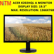 Acer K202HQL A Monitor