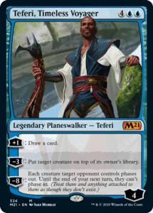 Teferi Timeless Voyager Planeswalker Decks Core 2021 Upgrade Guide