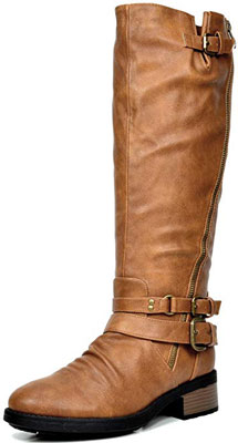 Dream Pairs wide calf boots | 40plusstyle.com