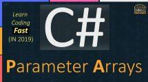 C# Parameter Arrays