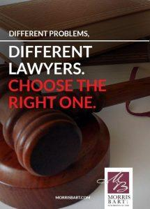 Not All Lawyers Are Alike: Choose The Right Legal Specialist