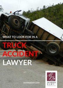 What To Look For in a Truck Accident Lawyer