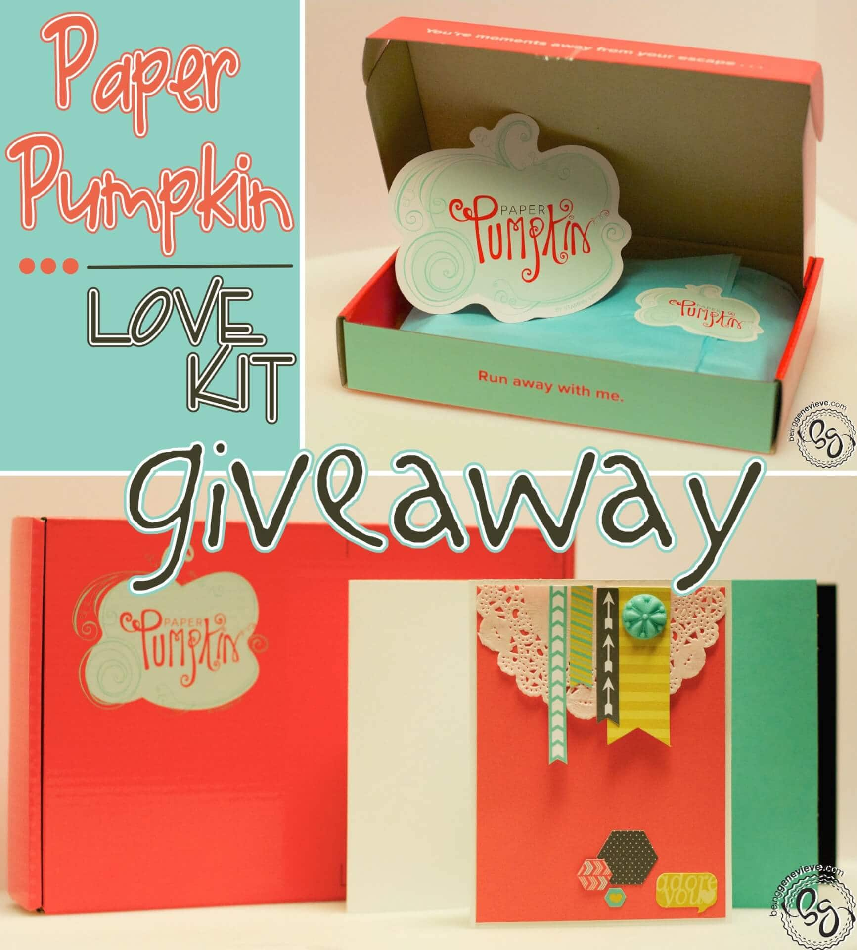 Love Paper Pumpkin