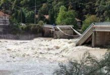 ambientalismo Crollo del ponte tra Romagnano Sesia e Gattinara
