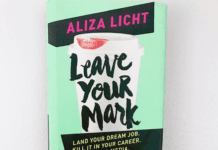 leave your mark inspiring book cover
