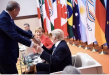 Erdogan Merkel und Trump