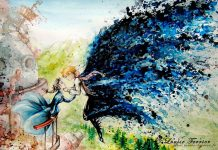 Studio Ghibli Characters Redrawn In Watercolor Paintings