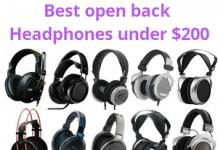 best open back Headphones under $200